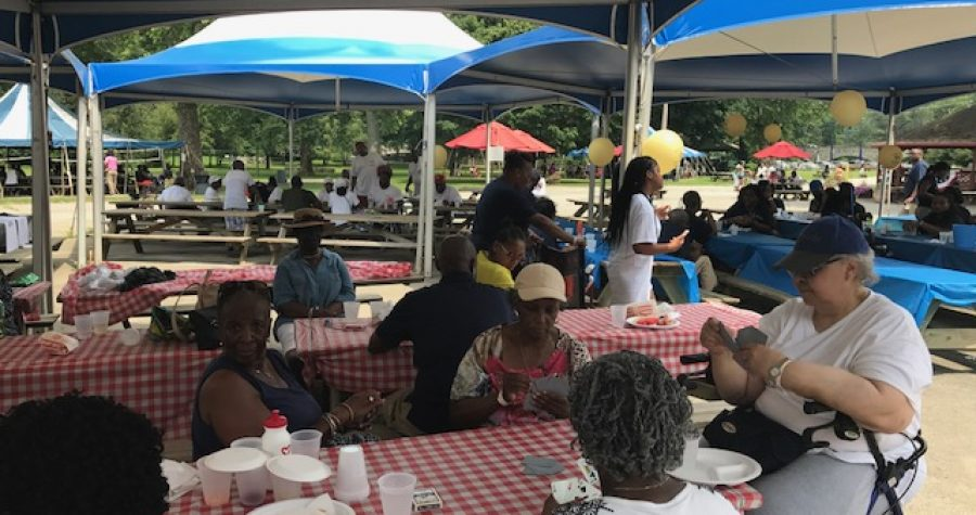 Church picnic: Brandywine Park